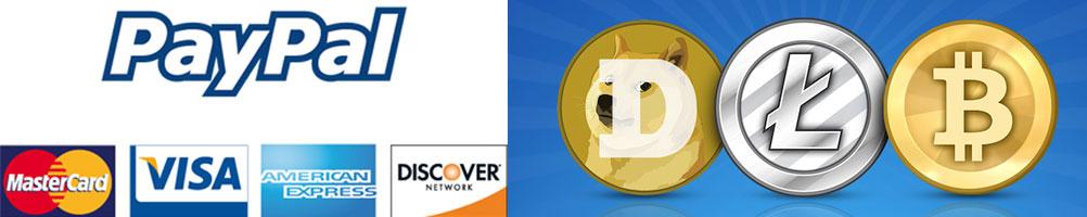 dogecoin hosting, litecoin hosting, bitcoin hosting